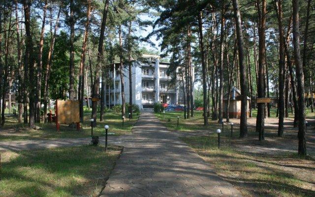 Гостиница Буймеровка Сосновый & SPA – курорт вид на фасад