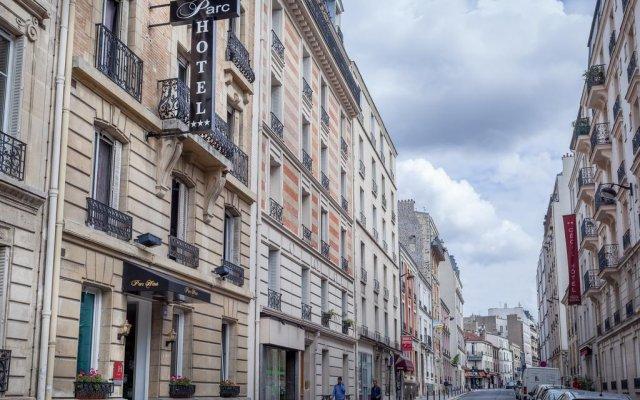Отель Parc Hotel Франция, Париж - 1 отзыв об отеле, цены и фото номеров - забронировать отель Parc Hotel онлайн вид на фасад