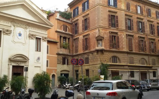 Отель Arch Rome Suites вид на фасад