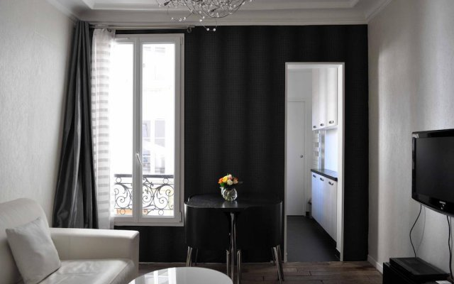 Апартаменты Modern Apartment Montmartre Sacré-Coeur - Smartrenting комната для гостей