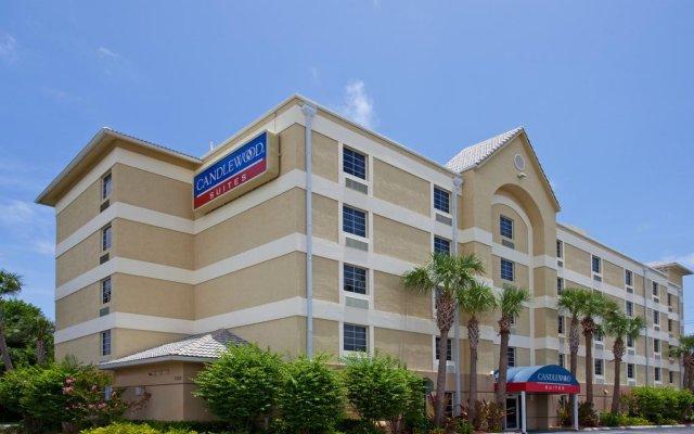 Отель Candlewood Suites Fort Lauderdale Airport-Cruise США, Форт-Лодердейл - отзывы, цены и фото номеров - забронировать отель Candlewood Suites Fort Lauderdale Airport-Cruise онлайн вид на фасад