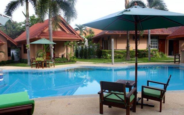 Отель Happy Elephant Resort вид на фасад
