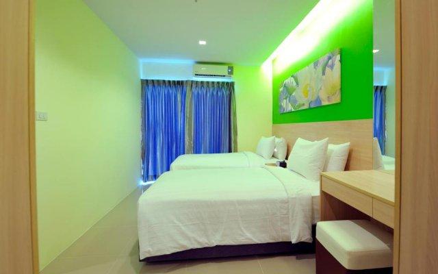 Отель Glow Central Pattaya Паттайя комната для гостей