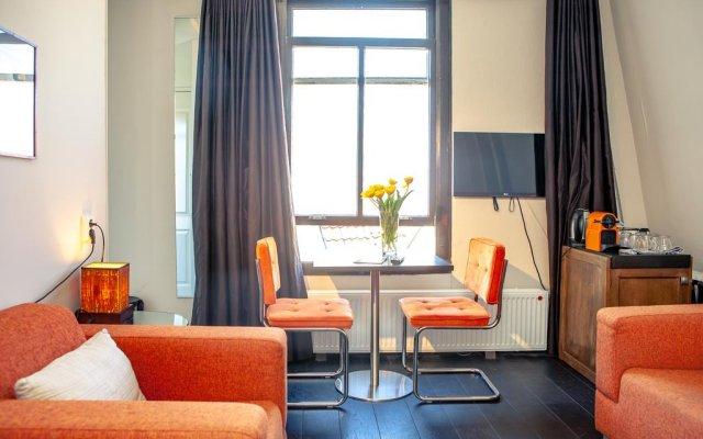 Отель Zwanestein Canal House Нидерланды, Амстердам - отзывы, цены и фото номеров - забронировать отель Zwanestein Canal House онлайн комната для гостей