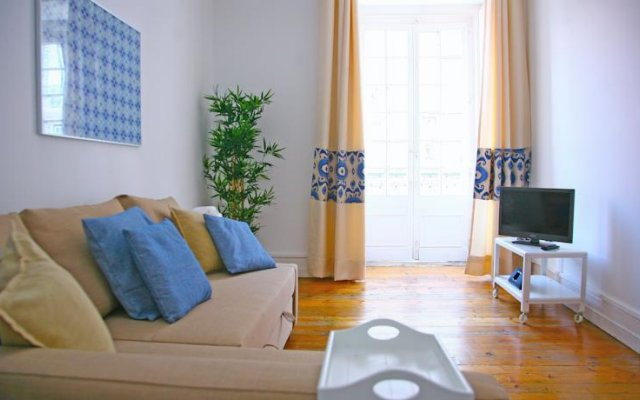 Апартаменты Tiles Apartment Лиссабон комната для гостей