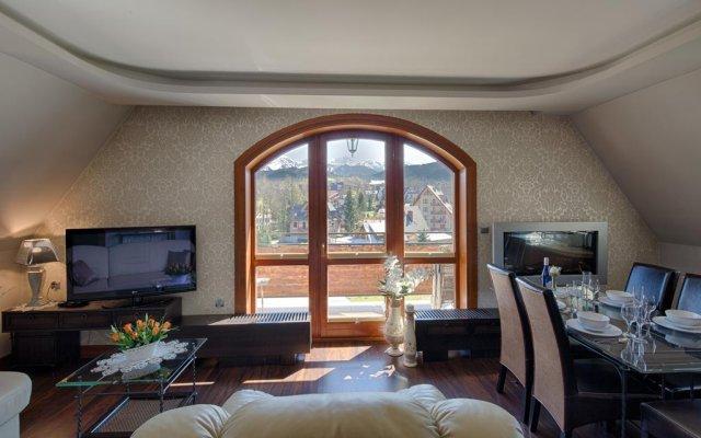 Отель Apartamenty Cicha Woda комната для гостей