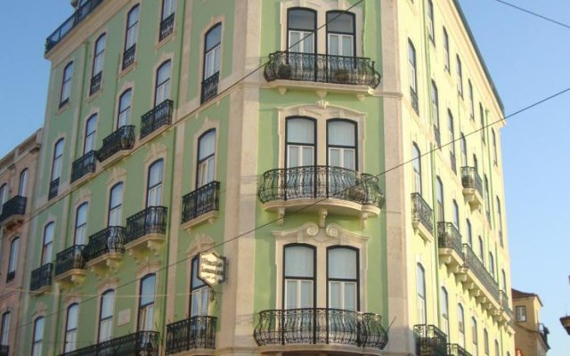 Отель Pensão Londres вид на фасад