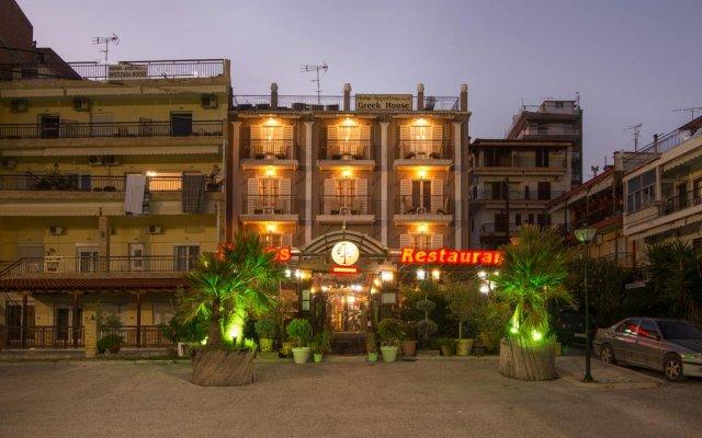 Greek House Hotel вид на фасад