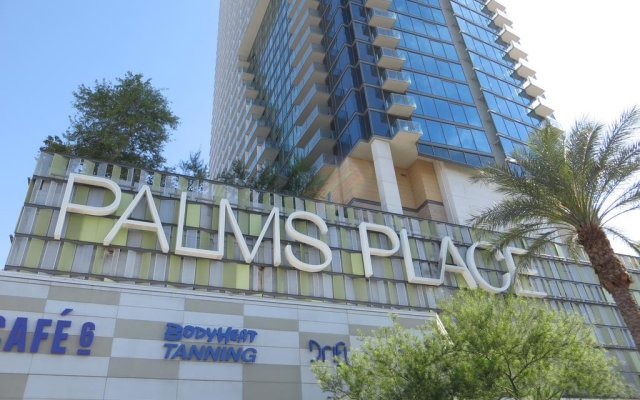 Отель Palms Place Hotel and Spa США, Лас-Вегас - 1 отзыв об отеле, цены и фото номеров - забронировать отель Palms Place Hotel and Spa онлайн вид на фасад