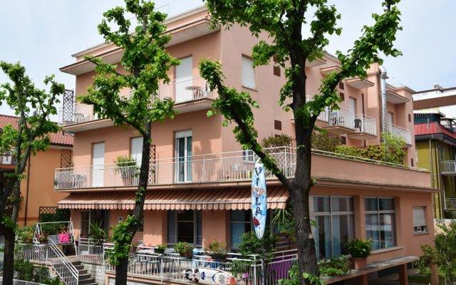 Hotel Villa Elia вид на фасад