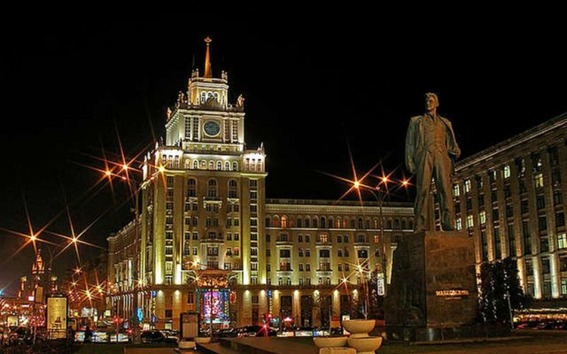 Апартаменты Sadovaya Apartments вид на фасад