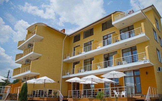 Гостиница Вилла Лаванда вид на фасад