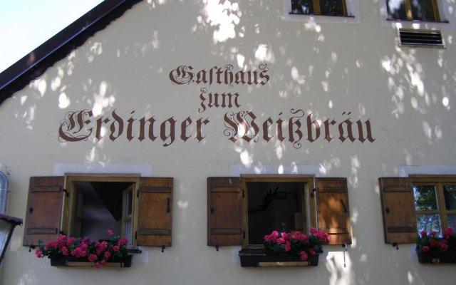 Hotel & Gaststätte Zum Erdinger Weißbräu Мюнхен вид на фасад
