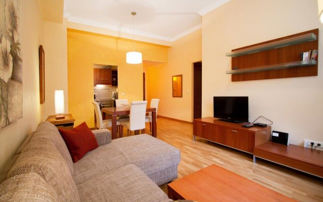 Апартаменты Solar Apartments Town Hall Square Таллин комната для гостей