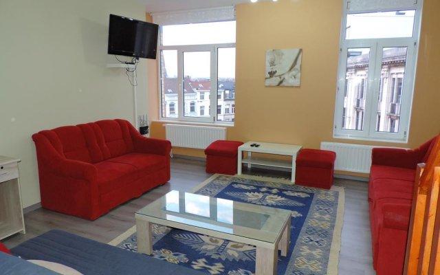 Отель Résidence Muken Бельгия, Брюссель - отзывы, цены и фото номеров - забронировать отель Résidence Muken онлайн комната для гостей