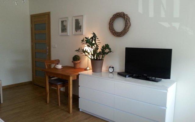 Отель Apartamenty Rajska Гданьск комната для гостей