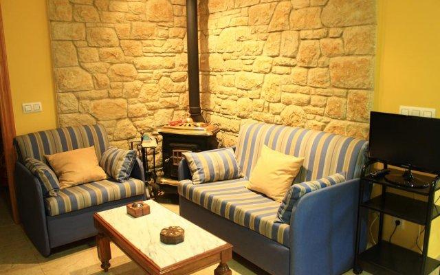 Отель Apartamentos Rurales El Riego Кудильеро комната для гостей