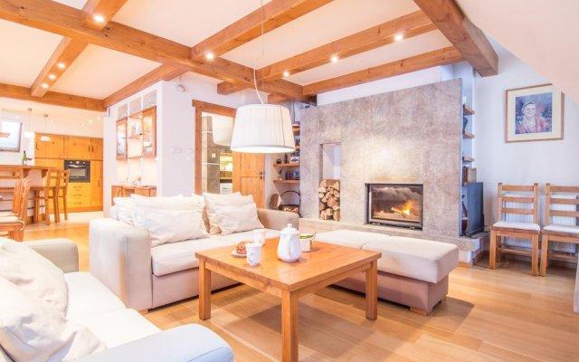 Отель Apartamenty Chata Pod Reglami комната для гостей