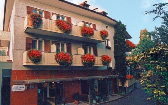 Hotel Steidlerhof Больцано вид на фасад