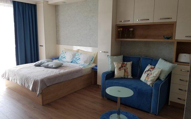 Апартаменты Riviera Studio Равда комната для гостей