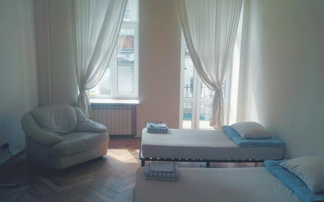 Borscht Hostel Kiev комната для гостей