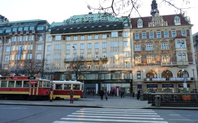 Апартаменты Apartments Jizera вид на фасад