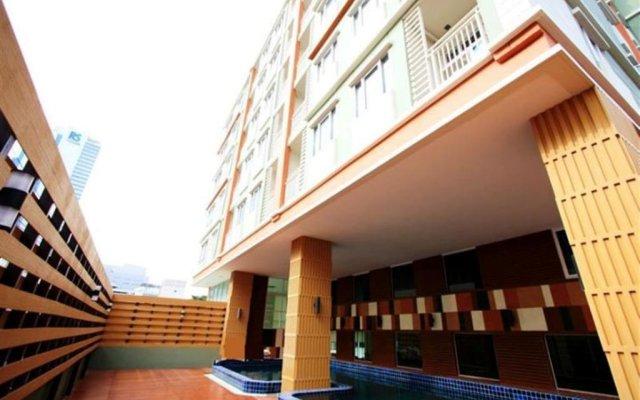 Отель Prom Ratchada Residence Таиланд, Бангкок - отзывы, цены и фото номеров - забронировать отель Prom Ratchada Residence онлайн вид на фасад