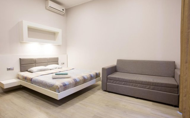Апартаменты Pushkinskaya Apartments Харьков комната для гостей