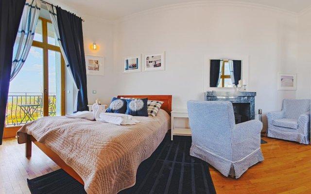 Отель Apartamenty Sun & Snow Traugutta Plaża Сопот комната для гостей