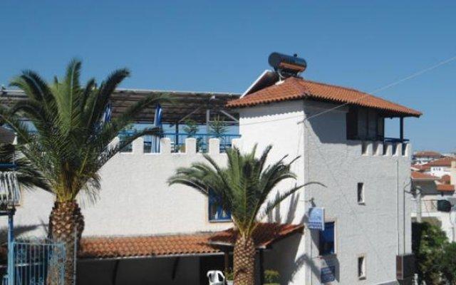 Отель Egeon Studios вид на фасад