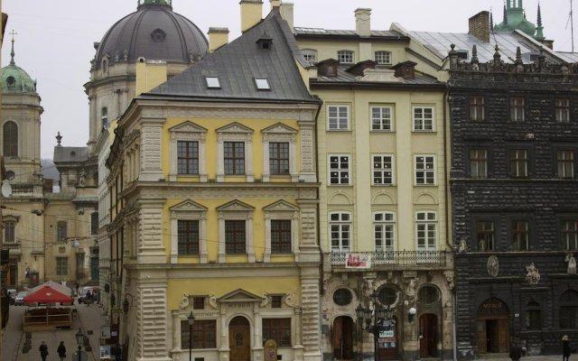 Апартаменты The Heart of Lviv Apartments - Lviv вид на фасад