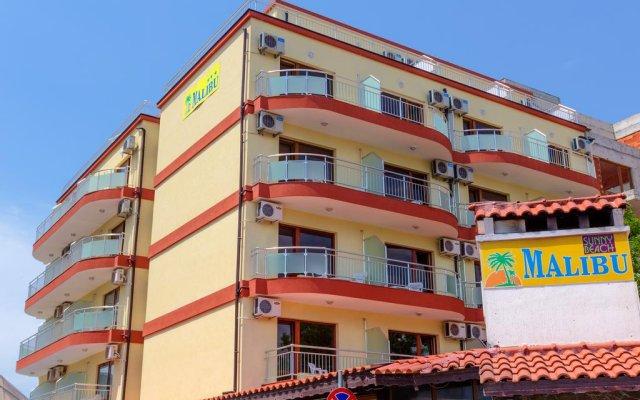 Hotel Malibu Солнечный берег вид на фасад