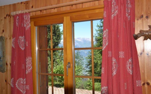 Отель Gisèle Нендаз комната для гостей