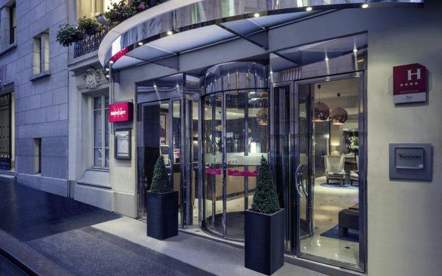 Отель Mercure La Sorbonne Париж вид на фасад
