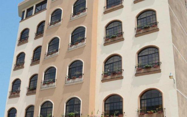 Hotel Monteolivos вид на фасад