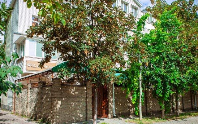 Гостиница Диана вид на фасад