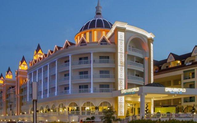 Dream World Resort & Spa Турция, Сиде - отзывы, цены и фото номеров - забронировать отель Dream World Resort & Spa онлайн вид на фасад