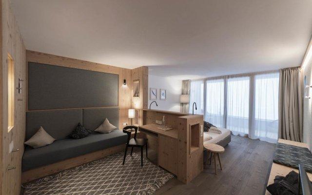 Отель Feuerstein Nature Family Resort Горнолыжный курорт Ортлер комната для гостей