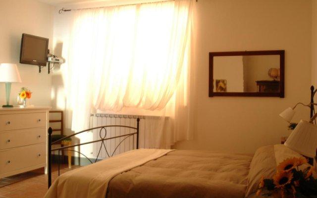 Отель B&B Chiusa dei Monaci Ареццо комната для гостей