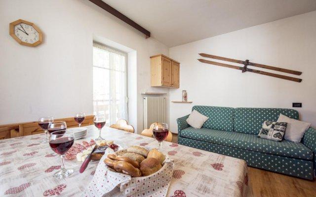 Отель Residence La Roggia Долина Валь-ди-Фасса комната для гостей