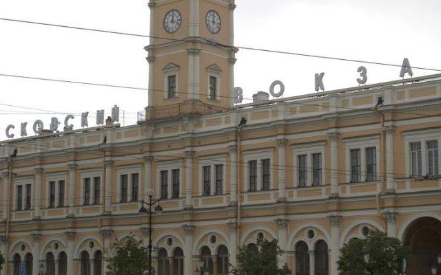 Мини-отель Русская Сказка вид на фасад