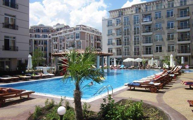 Отель in Dawn Park Aparthotel Болгария, Солнечный берег - отзывы, цены и фото номеров - забронировать отель in Dawn Park Aparthotel онлайн вид на фасад