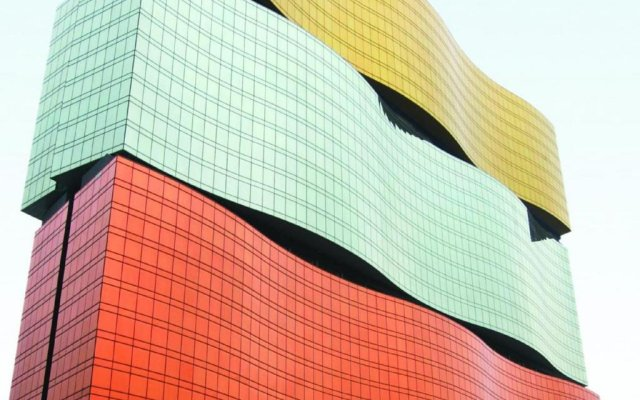 Отель Mgm Macau вид на фасад
