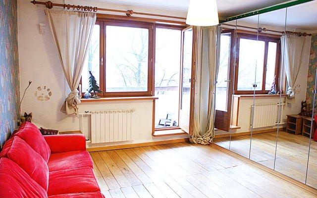 Апартаменты Mitino Crocus Expo Apartment комната для гостей
