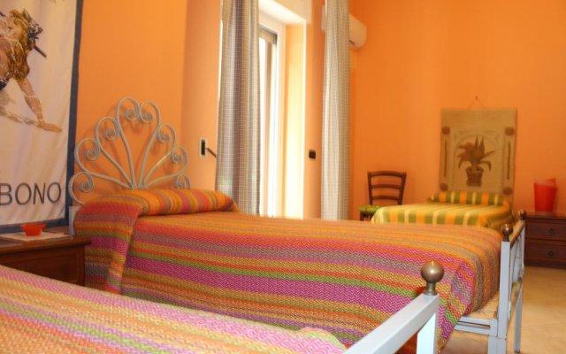 Отель B&B L'Acchiatura Лечче комната для гостей