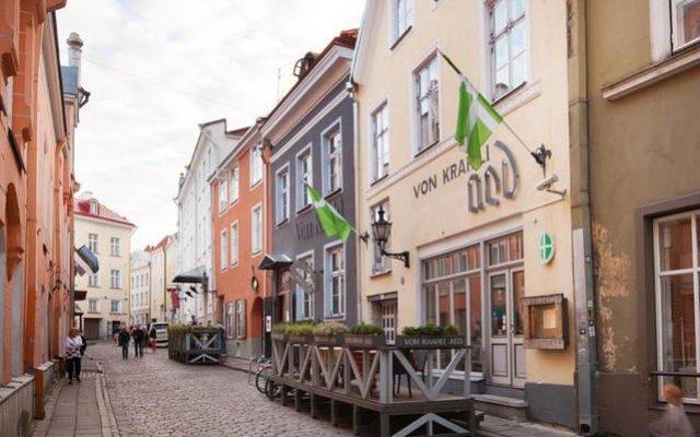 Апартаменты Tallinn City Apartments - Old Town вид на фасад