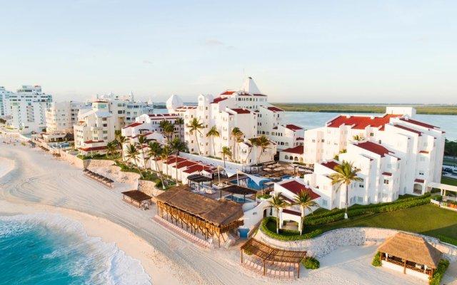 Отель GR Caribe Deluxe By Solaris - Все включено Мексика, Канкун - 8 отзывов об отеле, цены и фото номеров - забронировать отель GR Caribe Deluxe By Solaris - Все включено онлайн пляж