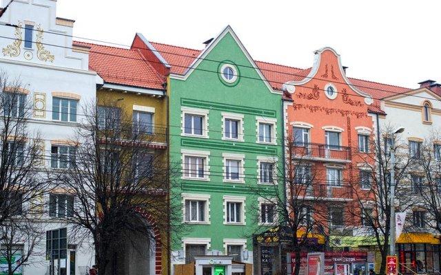 Апартаменты Виталий Гут на Центральной Площади вид на фасад