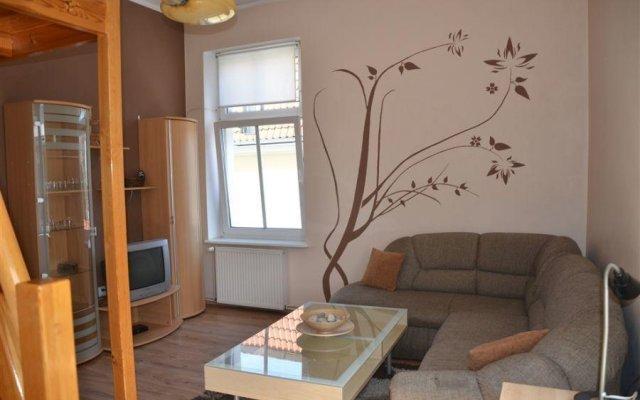 Отель Victus Apartament Horyzont Сопот комната для гостей