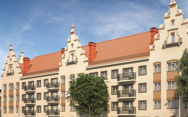Апартаменты Centre Apartment вид на фасад